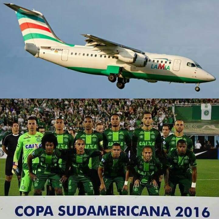 équipe brésilienne chapocoense